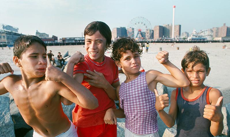 纽约时报摄影师眼中的70年代纽约城市公园