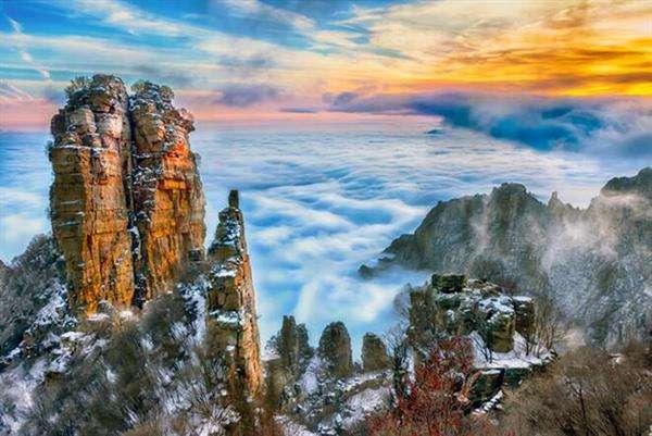 蜜月旅行白石山