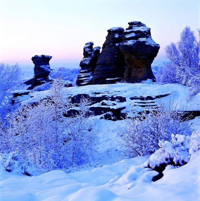 去哪里拍特色雪景?