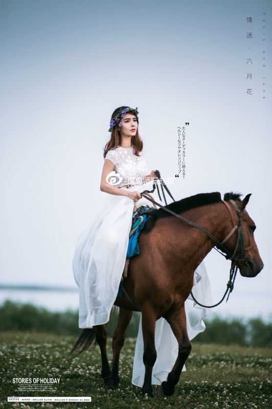 影楼韩式新娘造型