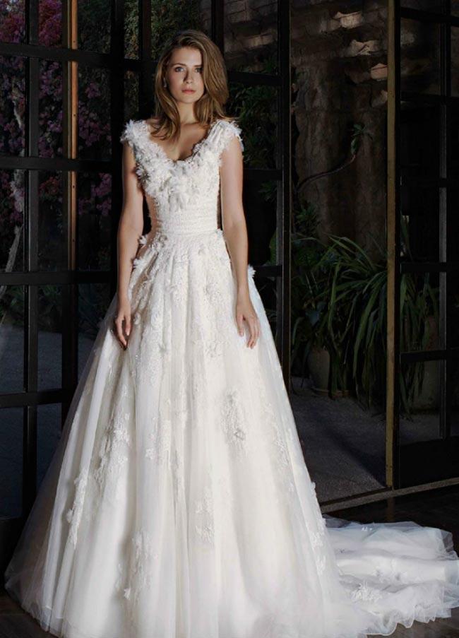 婚纱摄影最新新娘婚纱设计