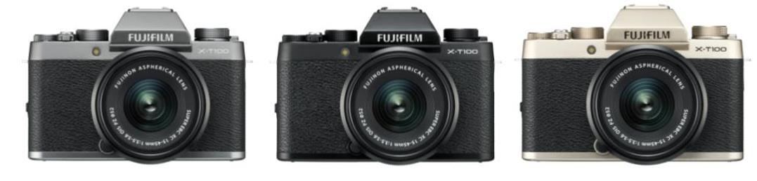 富士胶片推出FUJIFILM X-T100——X系列无反数码相机时尚新品