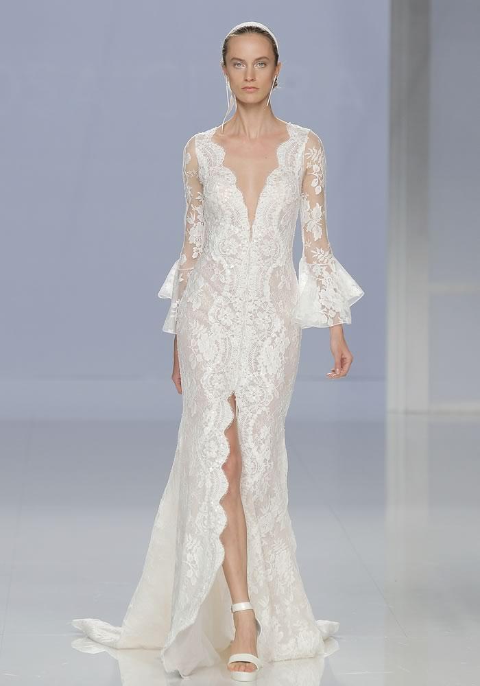 婚纱摄影空灵的婚纱礼服