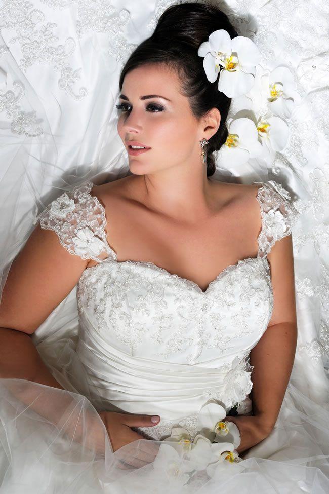 保定婚纱摄影微胖新娘婚纱选择