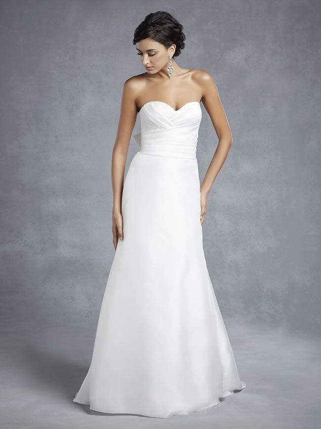 婚纱摄影紧身婚纱礼服