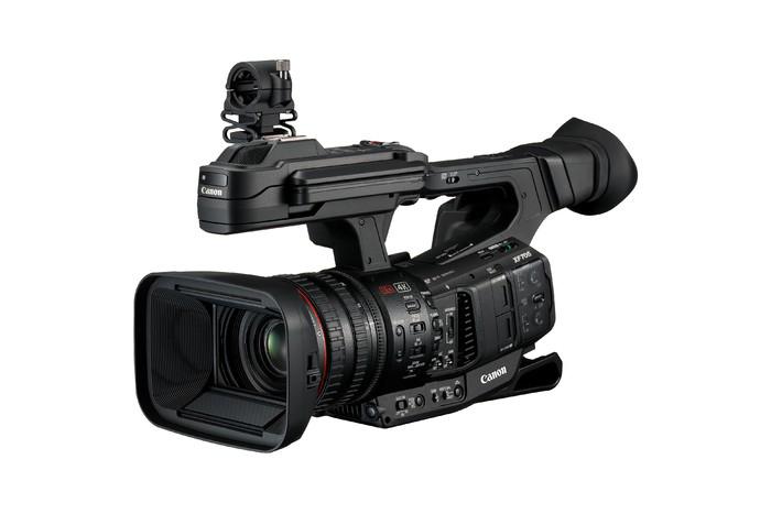13日佳能发布专业摄像机XF705,支持4K+50P的HDR视频