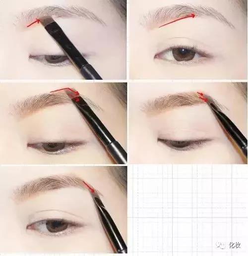 当下最流行的挑眉画法