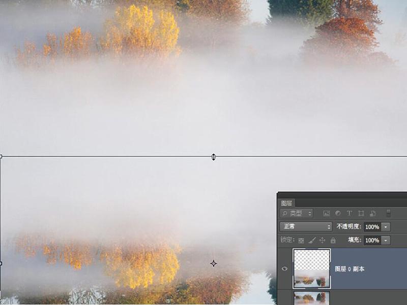 使用Photoshop创造倒影