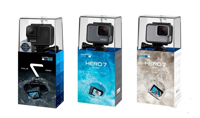 GoPro HERO7三款相机发布,快来围观