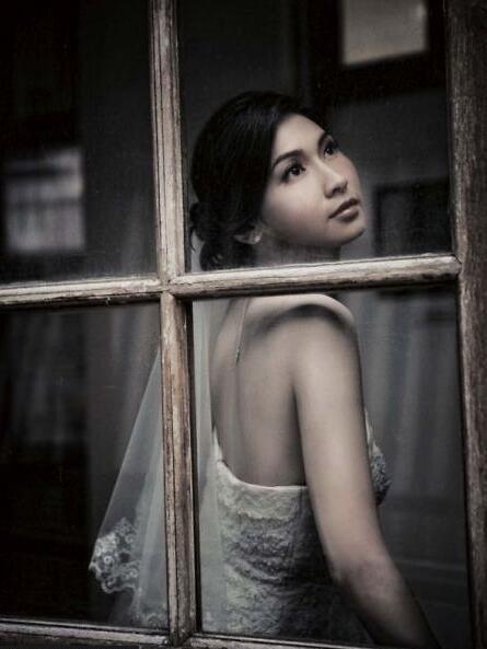 摄影培训简单用光为新娘拍好经典肖像