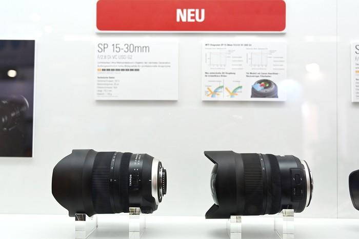 腾龙全新推出SP 15-30mm F2.8 Di VC USD G2镜头