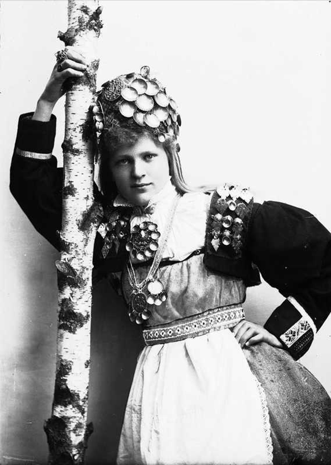 挪威新娘珍贵旧影