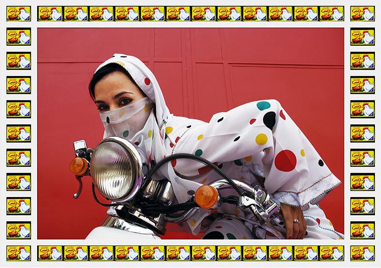 摩洛哥的机车女孩