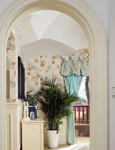 婚房装修浪漫的罗马门