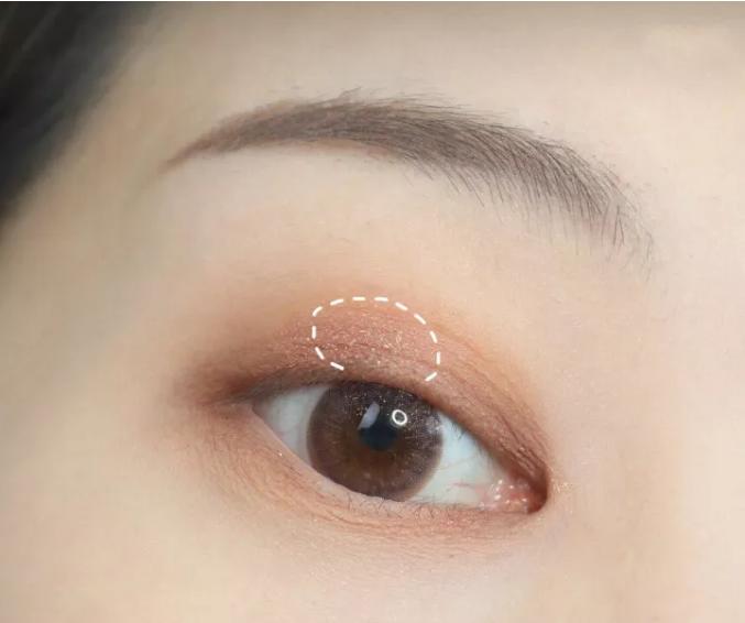 三分鐘就能學會的秋季楓葉系眼妝