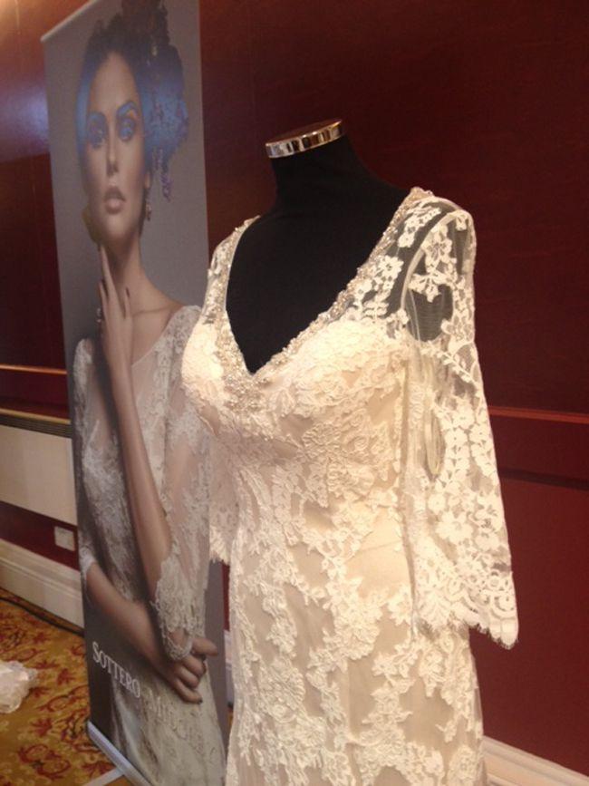 英国婚纱展的7款婚纱礼服潮流