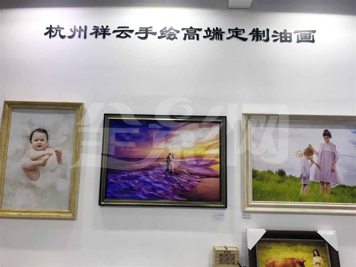 杭州祥云手繪高端定制油畫