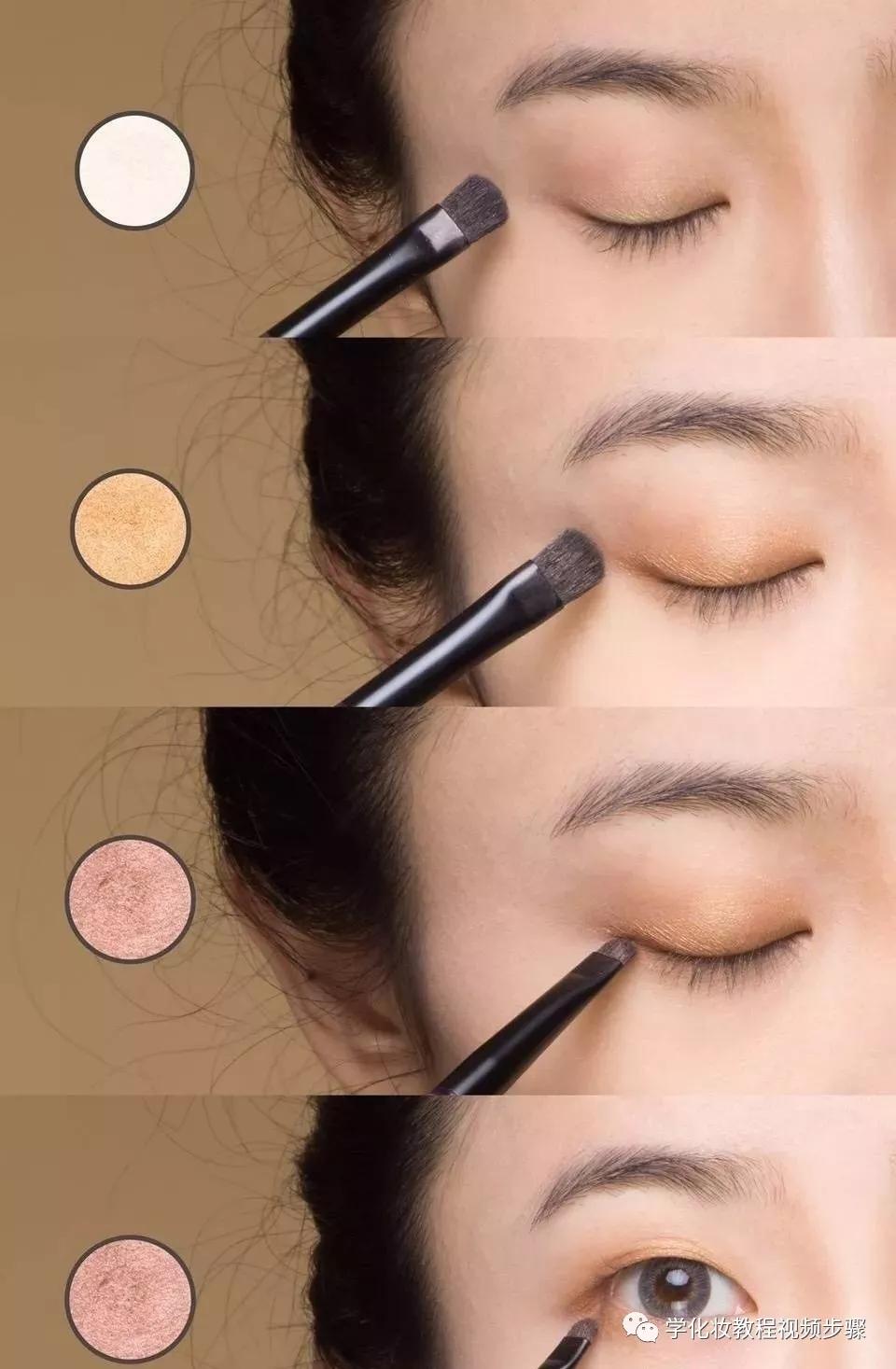 焦糖色妆容,让面部轮廓更加立体