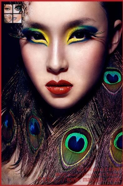 个人作品创意彩妆