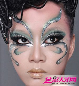 创意彩妆春天主题