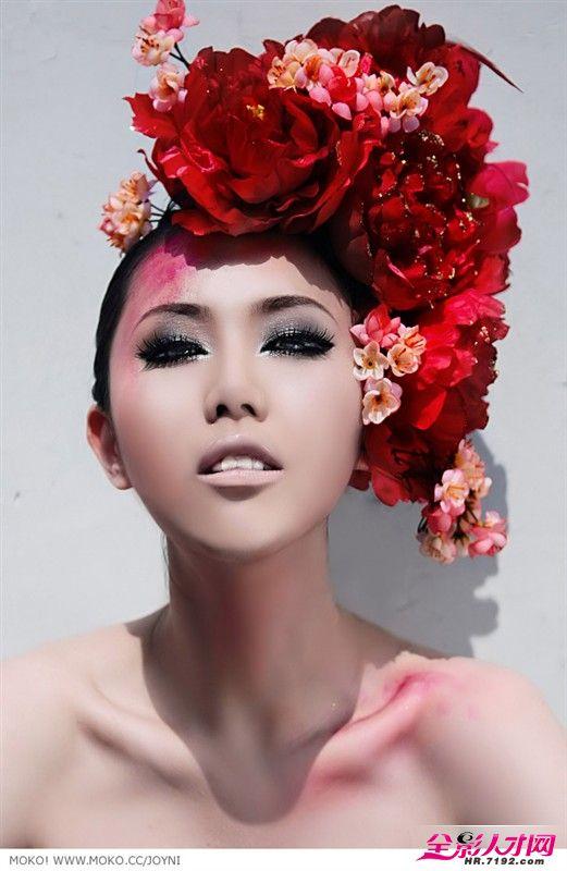 婚纱摄影妆面造型展示