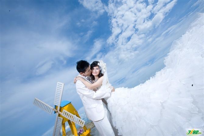 婚纱摄影珠海淇澳岛