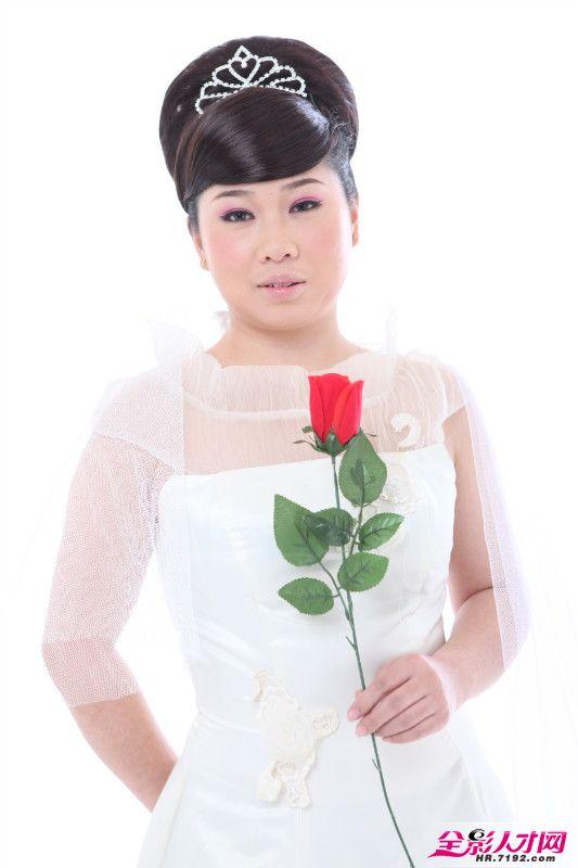 化妆师罗丹 婚纱摄影晚礼造型展示