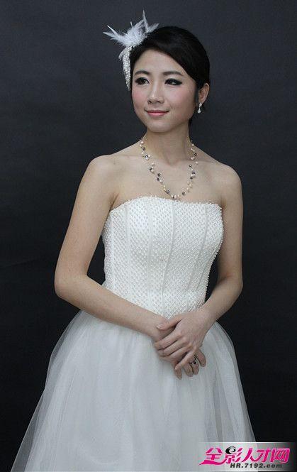 婚纱摄影新娘妆和创意妆展示