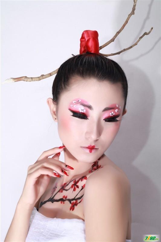 彩妆创意彩妆