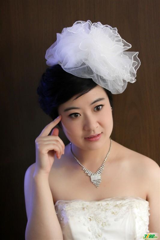 化妆师赵丁丁 婚纱摄影婚纱晚礼造型展示