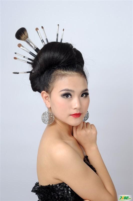 彩妆创意妆展示图片