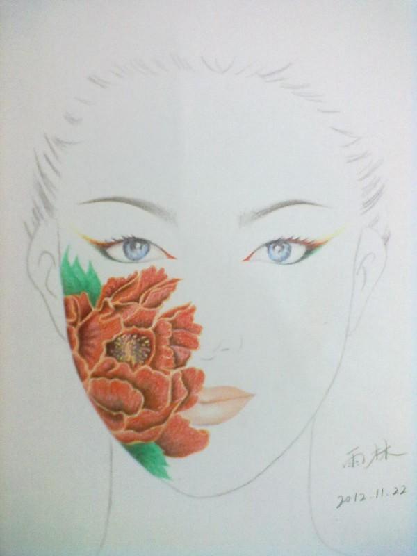 彩铅妆面设计(10/)