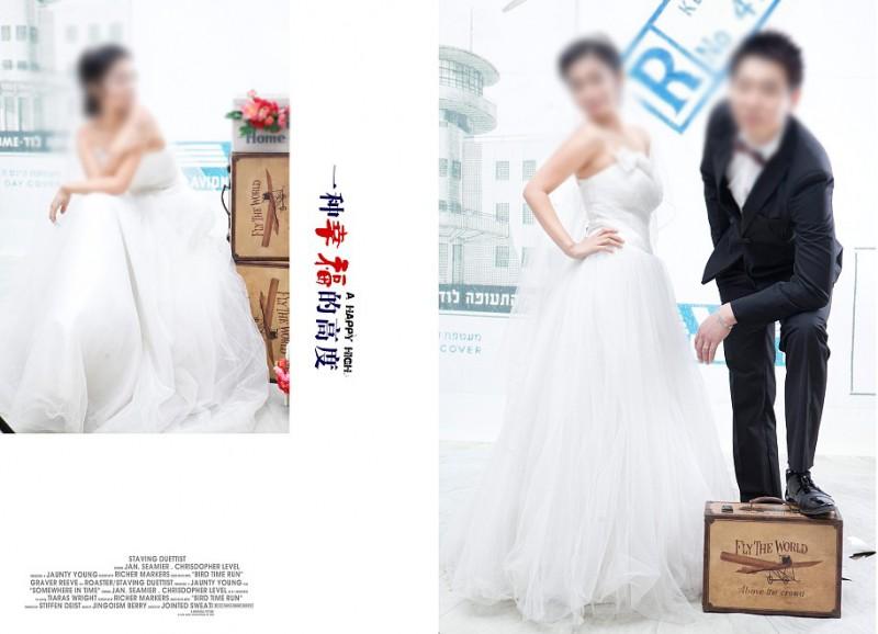 婚纱摄影婚纱排版设计