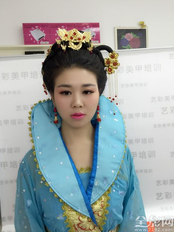 化妆师飞儿 婚纱摄影古装造型