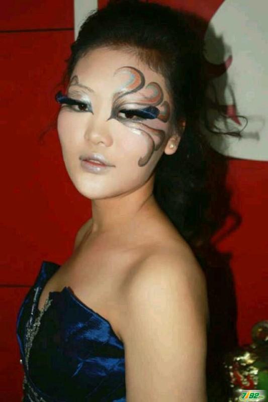 彩妆创意妆面展示