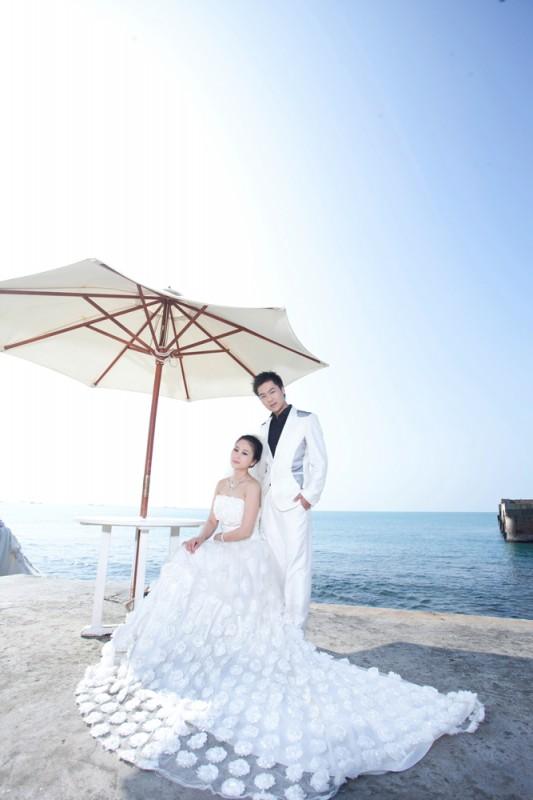 婚纱摄影三亚海景婚纱