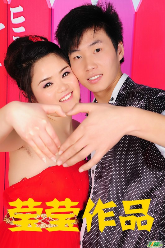 李莹 婚纱摄影新娘妆面造型展示