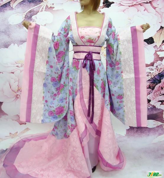婚纱摄影古装衣服图片