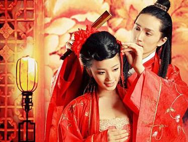 古装婚纱照最新照片欣赏 拍摄时的注意事项(3)