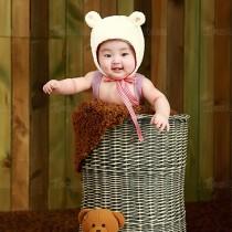 延安索菲雅贯日漂亮宝贝儿童摄影