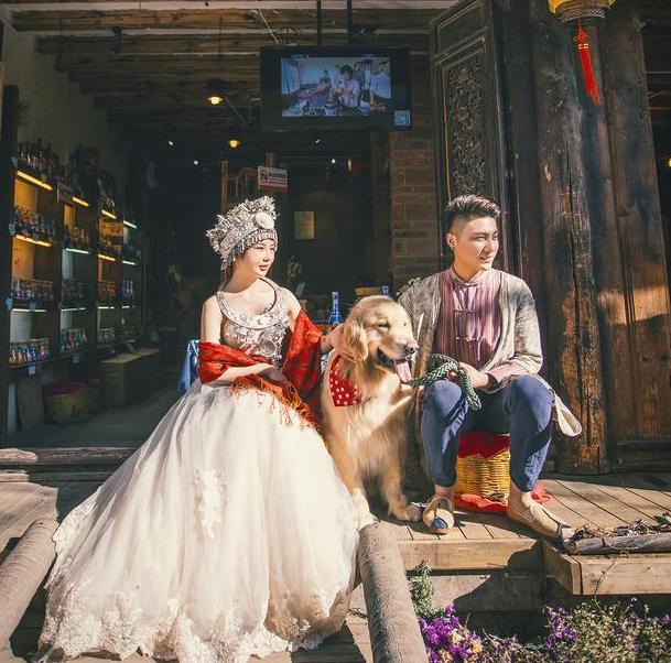 拍摄婚纱照能不能带宠物拍 有什么需要注意的