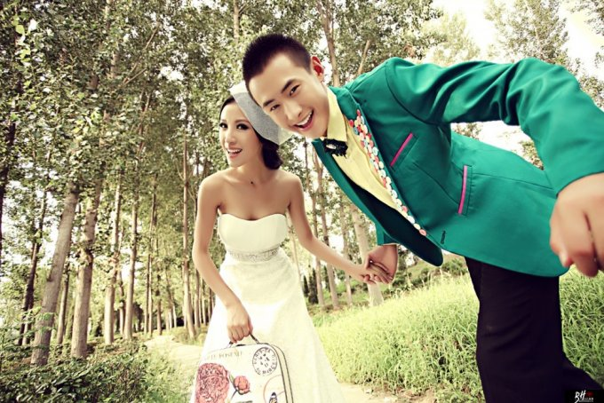 嘉善外景婚纱摄影的拍摄窍门