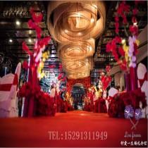渭南钟爱一生中式 大红色高贵系列
