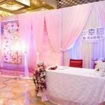 珠海达林婚礼策划樱花粉色主题婚礼