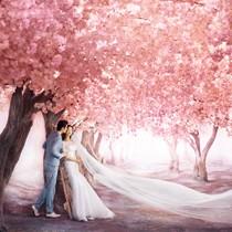爱神婚纱新景全球首发