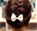 拍婚纱照新娘直发还是卷发