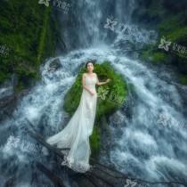 弥勒森林系婚纱照