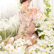孕妇写真-花海
