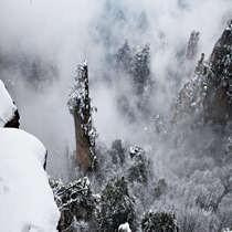 张家界雪景三天两晚摄影线路