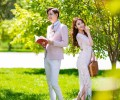 90后新人如何拍出清新活力婚纱照?